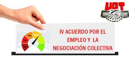 EL IV ACUERDO POR EL EMPLEO Y LA NEGOCIACIÓN COLECTIVA (AENC) ES RATIFICADO POR LOS MILITANTES DE UGT