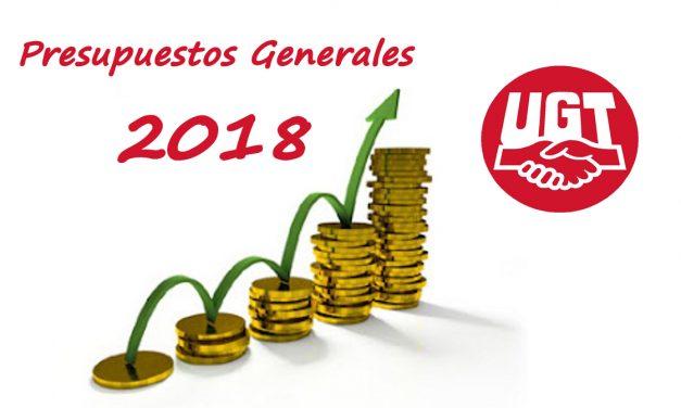 Unos presupuestos, los de 2018, que suponen un cambio de orientación en el gasto social y en la recuperación de derechos de los empleados públicos