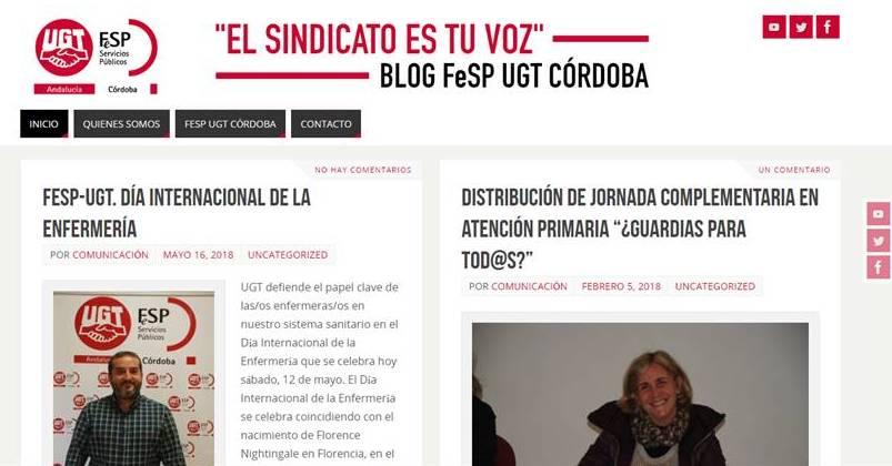 El Sindicato es Tu Voz - FeSP UGT Córdoba